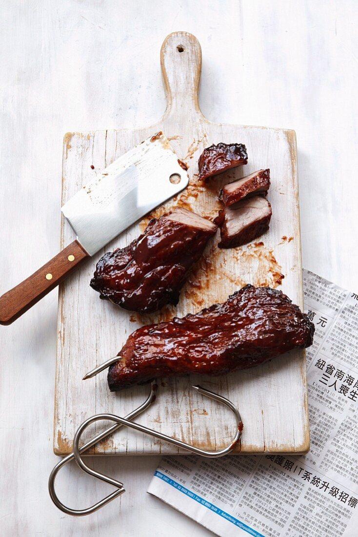 Char siu (grilled pork, China)