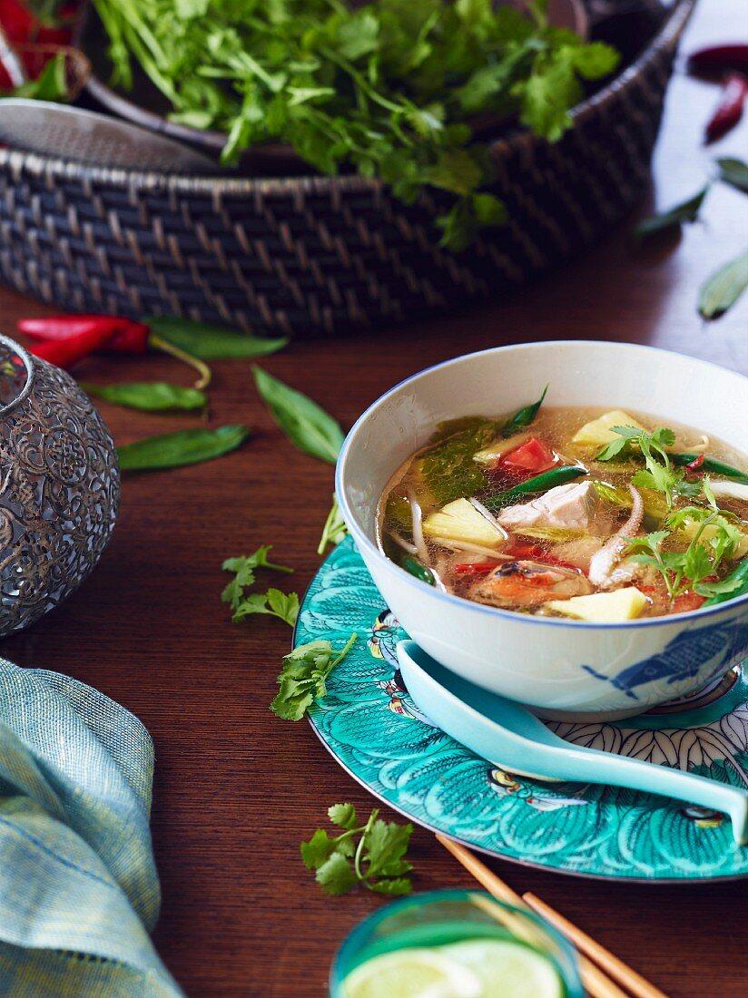 Hu Tieu Do Dien Hero, a Vietnamese dish