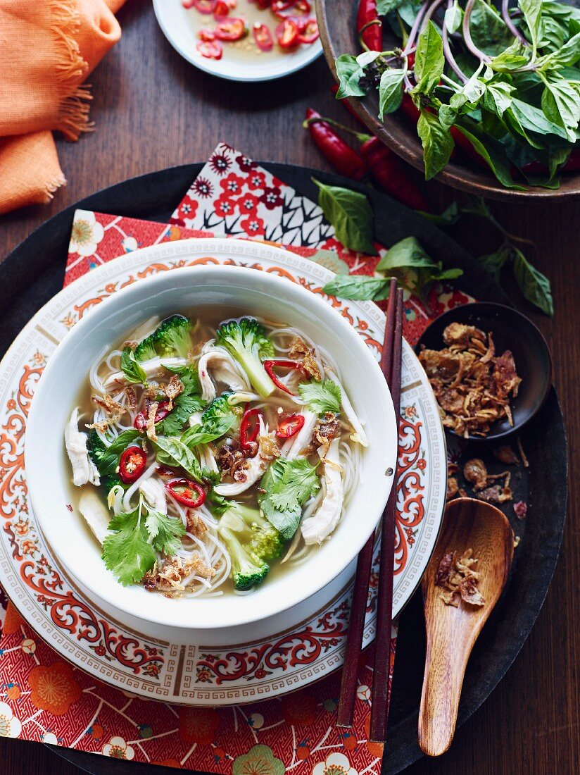 Hu Tieu Mi Di Hero, a dish from Vietnam