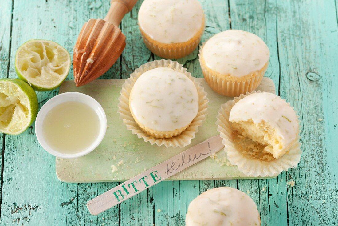 Caipirinha-Muffins