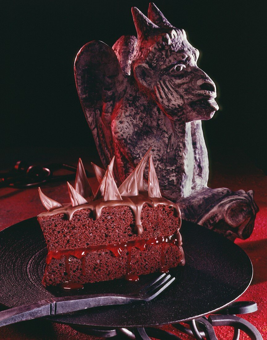 Devil's Food Cake for Halloween (USA)