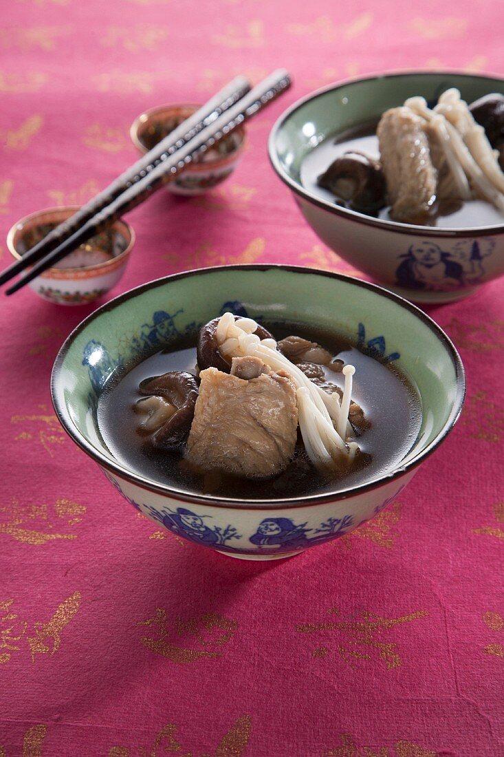 Bak Kut Teh (herb soup with pork, China)