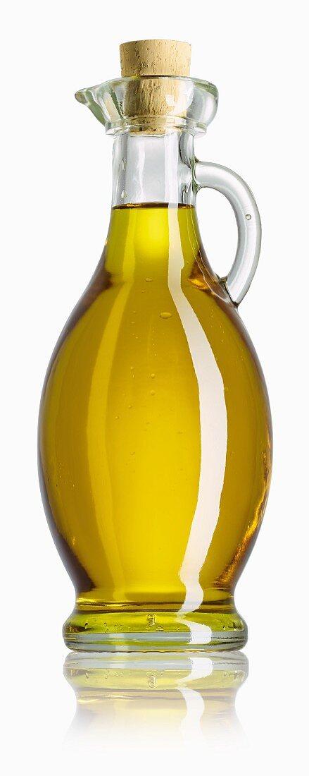 Olivenöl in Karaffe