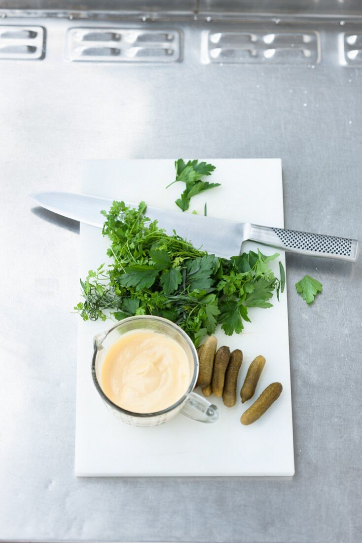 Ingredients for remoulade