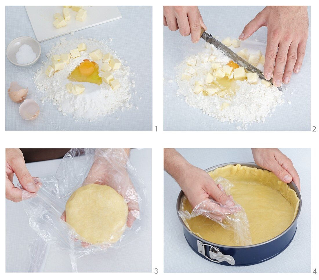 Basic shortcrust pastry recipe