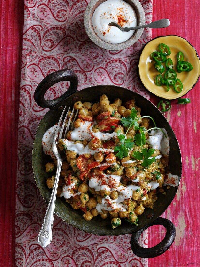 Chana masala from the Himalaya
