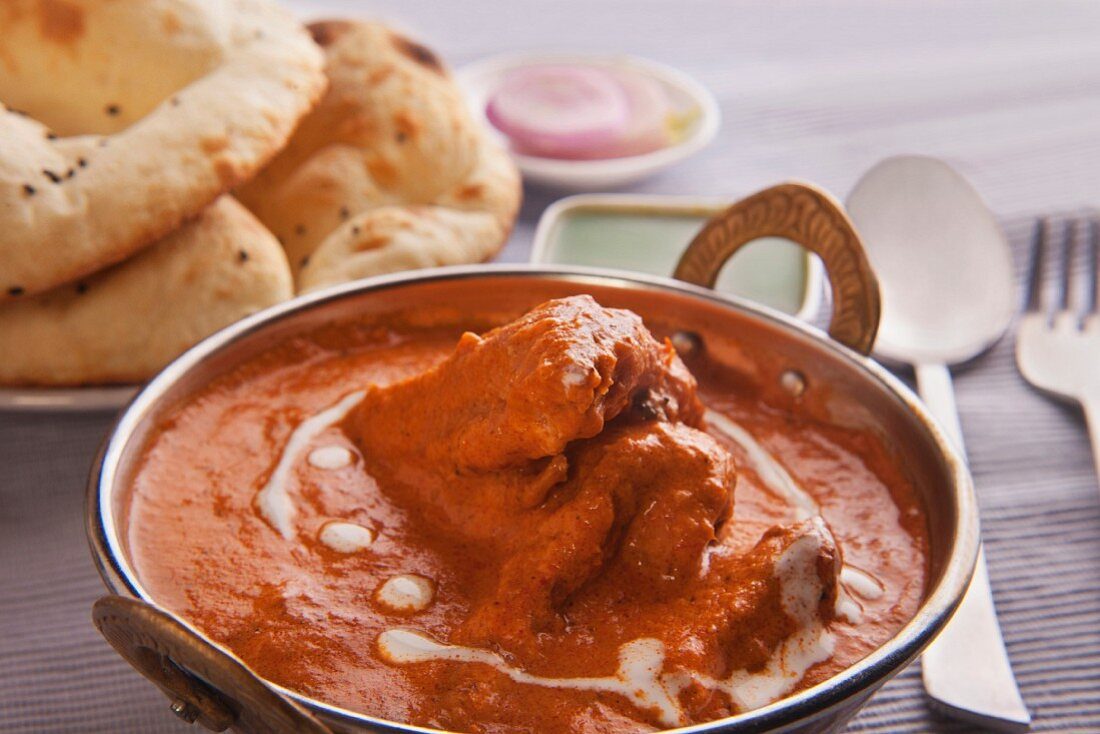 Butter chicken (India)