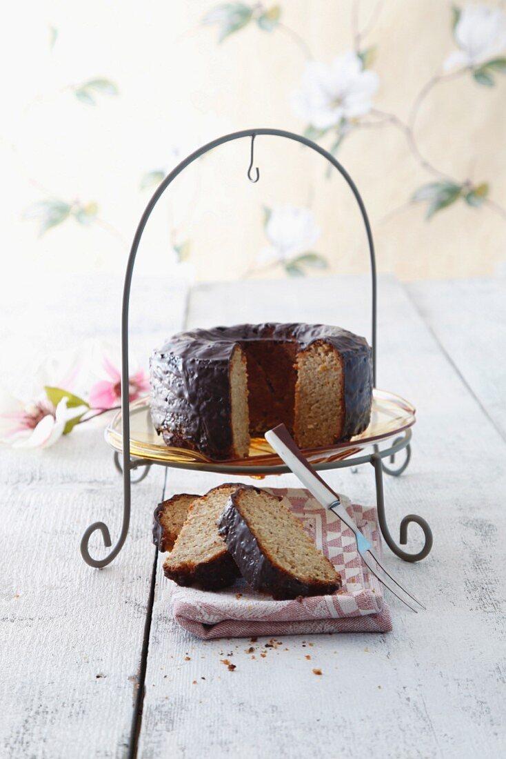 Nut cake with Baileys