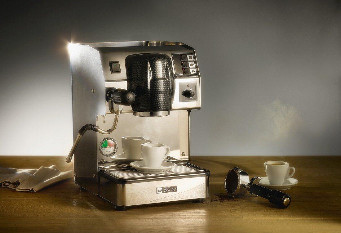 An espresso machine (Dalla Corte)