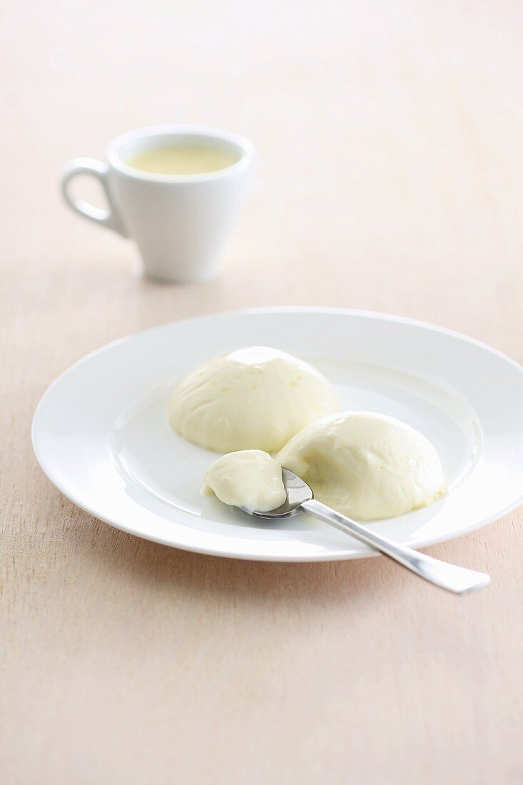 Panna cotta (Cream dessert, Italy)
