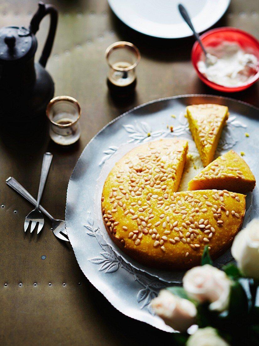 Sfouf (spiced Lebanese cake)