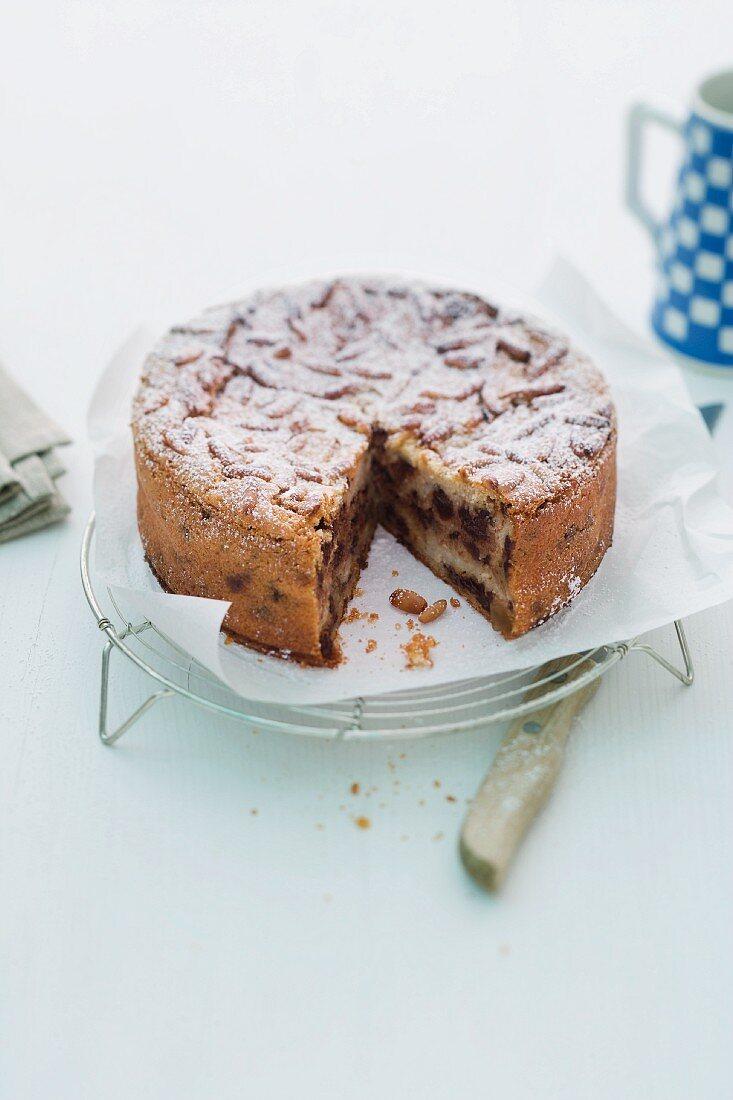 Torta Di Pane (Tessin bread cake)