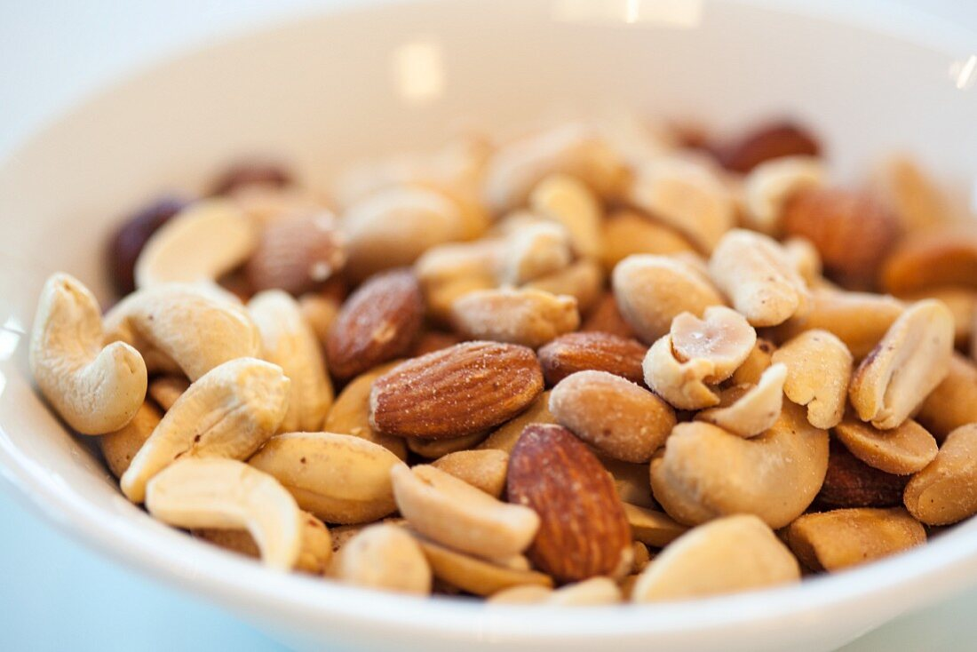 Roasted salted mixed nuts