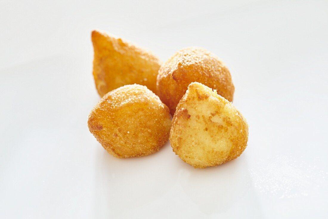 Coixinha (deep-fried potato pastries, Brazil)