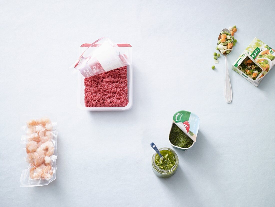 Ingredients for quick meals