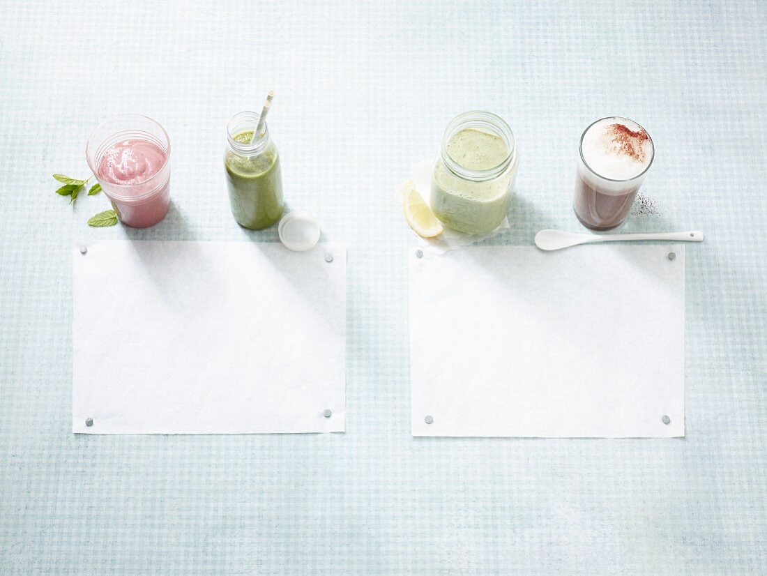 Four quick low carb drinks