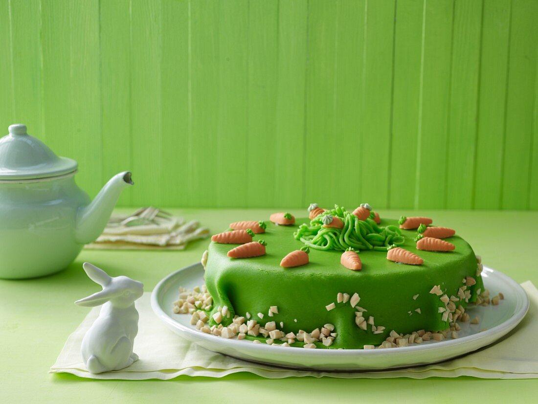 Carrot cake for Easter