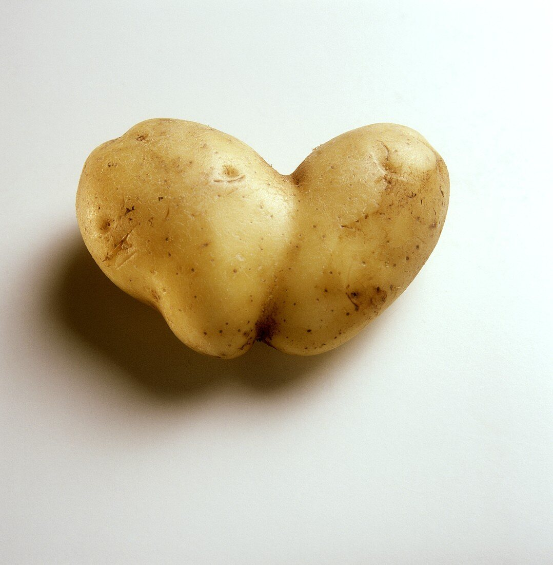 Single Heart-shaped Potato