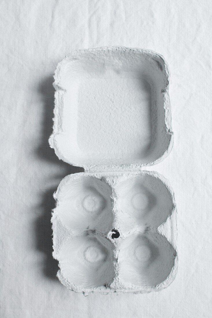 An empty eggbox