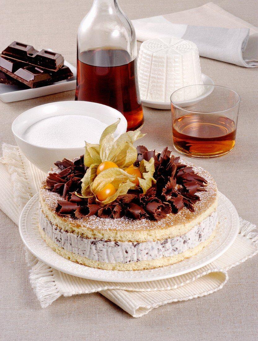 Zuppa Inglese alla Napoletana (Italian layered dessert)