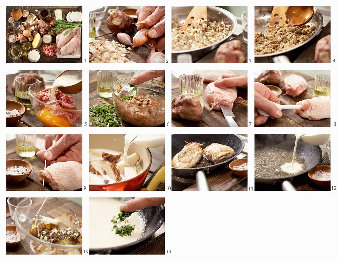 How to make stuffed chicken breasts