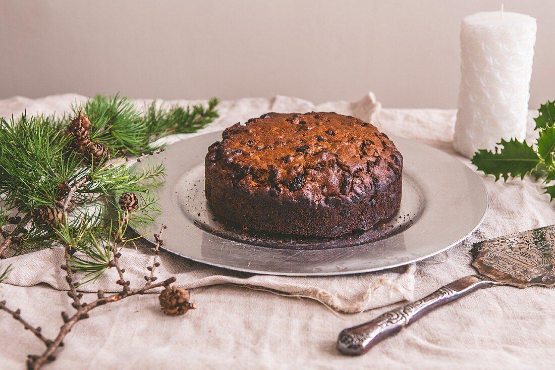 Fruit cake for Christmas
