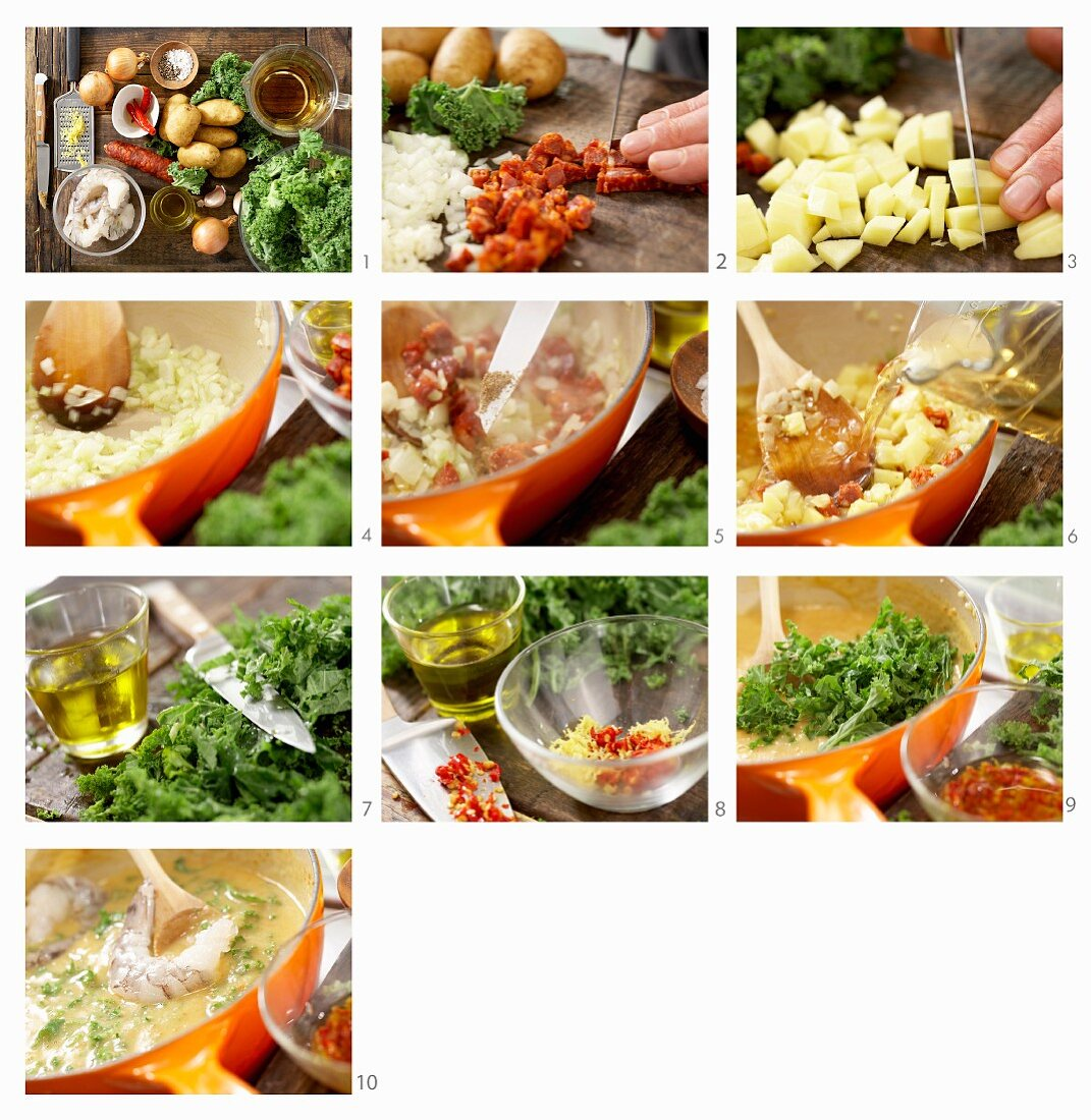 How to prepare green cabbage stew