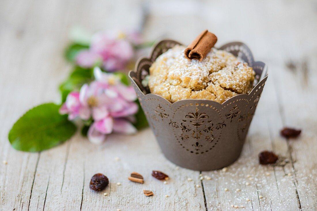 Vegan Lupine Apple Muffin