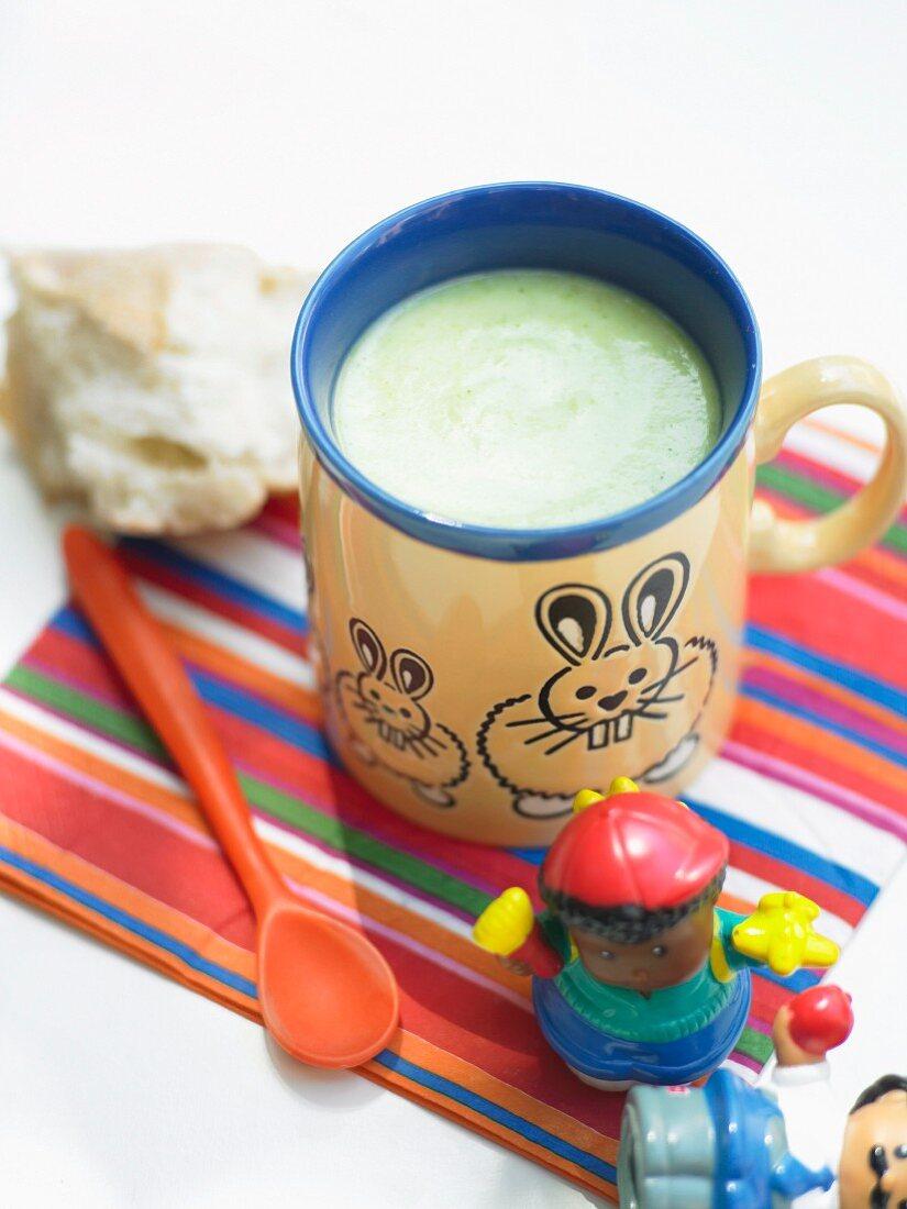 Kids Potato and Broccoli Soup