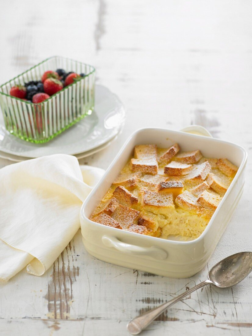 Gluten-Free Bread & Butter Pudding