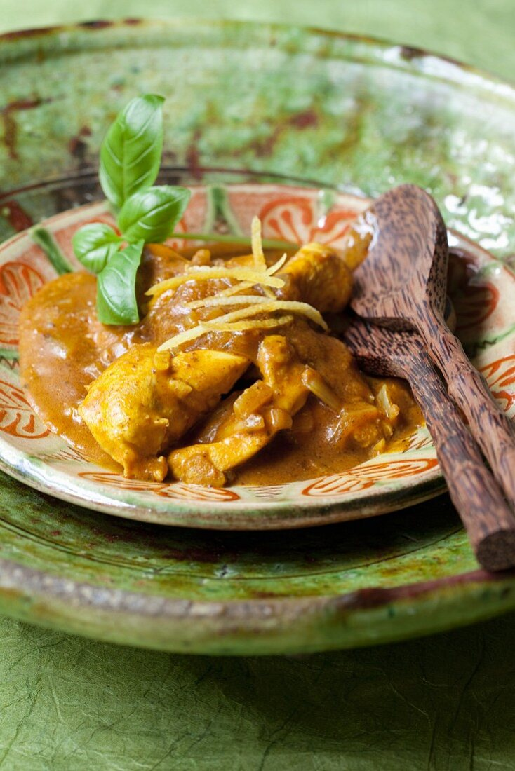 Chicken curry (Asia)