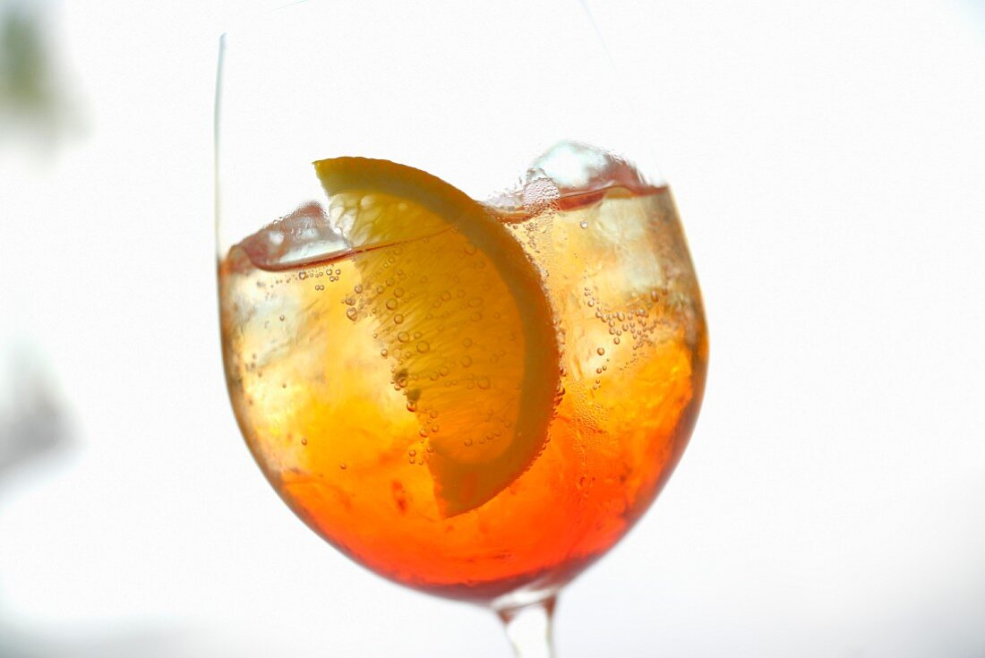 A Yummy Mummy cocktail made with gin