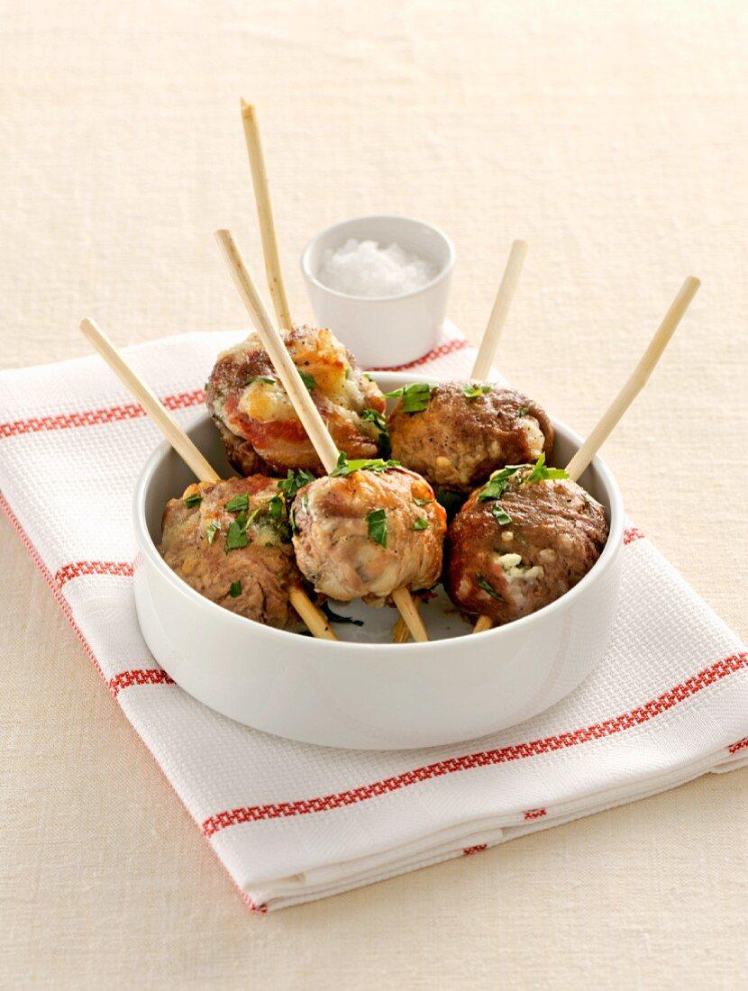 Polpette pugliesi (Apulian-style meatballs, Italy)