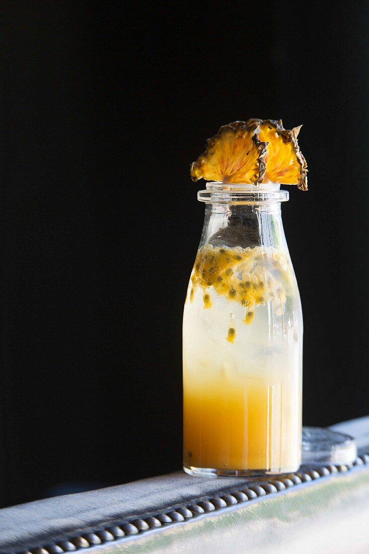 'Pineapple Passion Fruit Summer Cup' cocktail from the 'Bryk Bar' in Berlin