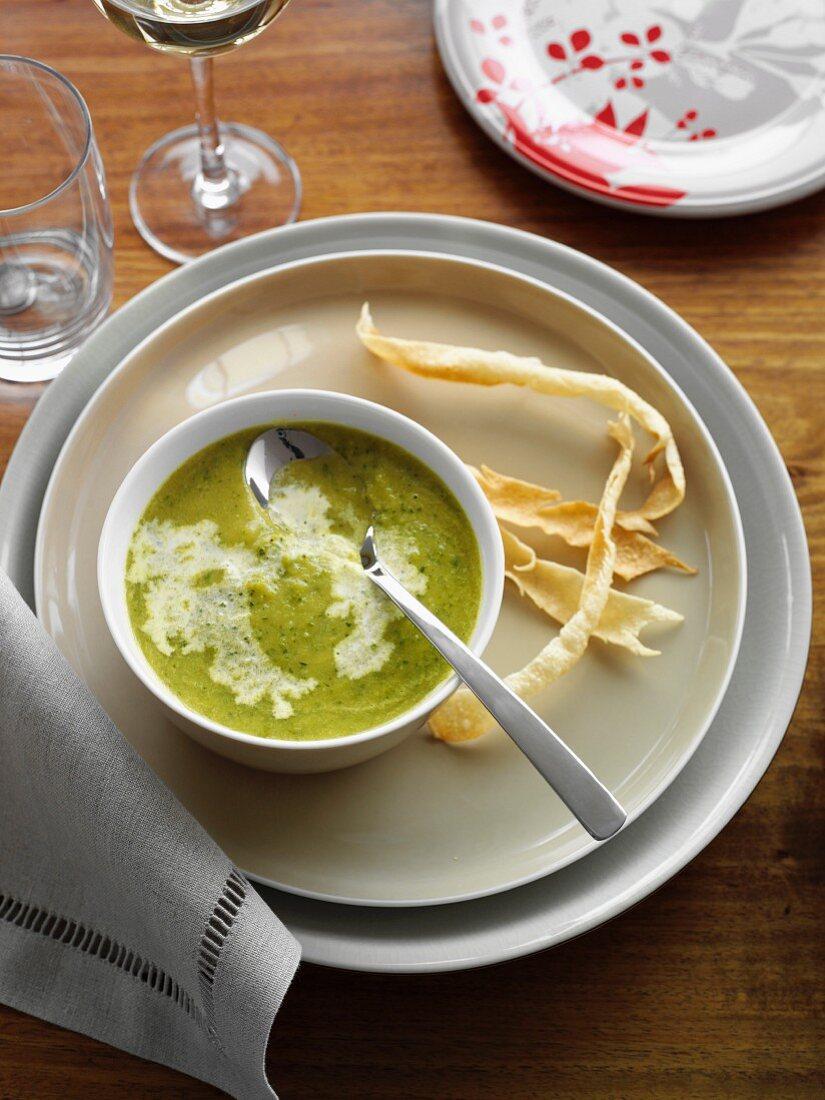 Spiced Zucchini Soup