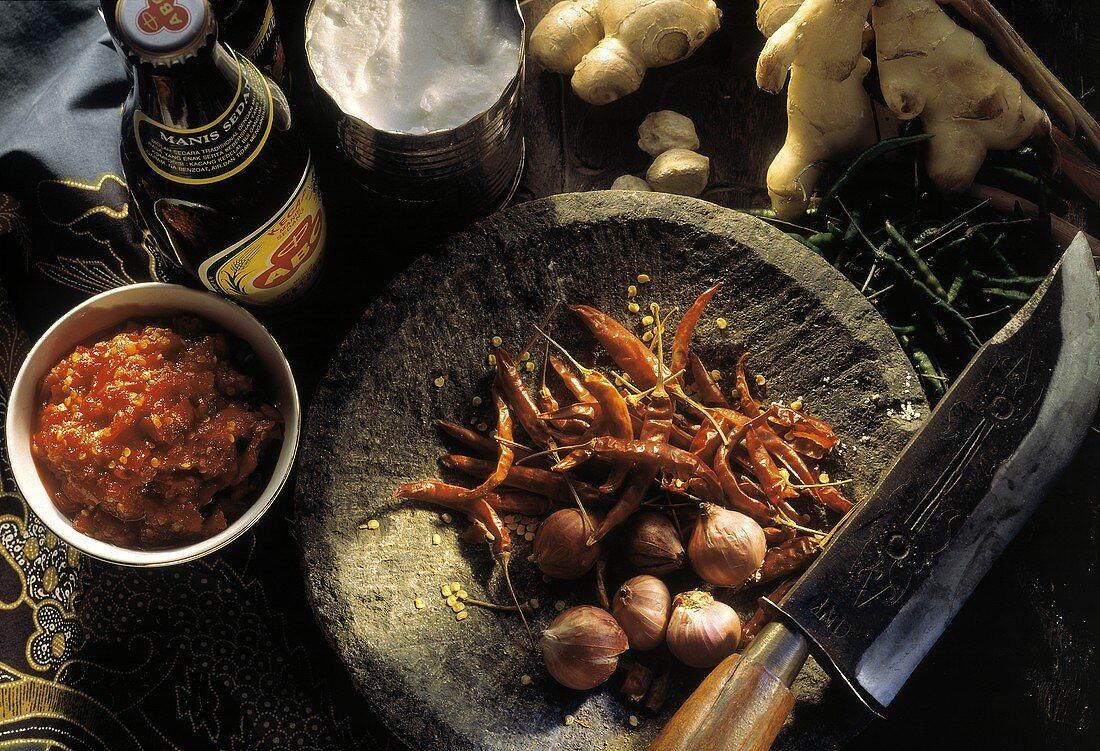 Assorted Indonesian Ingredients