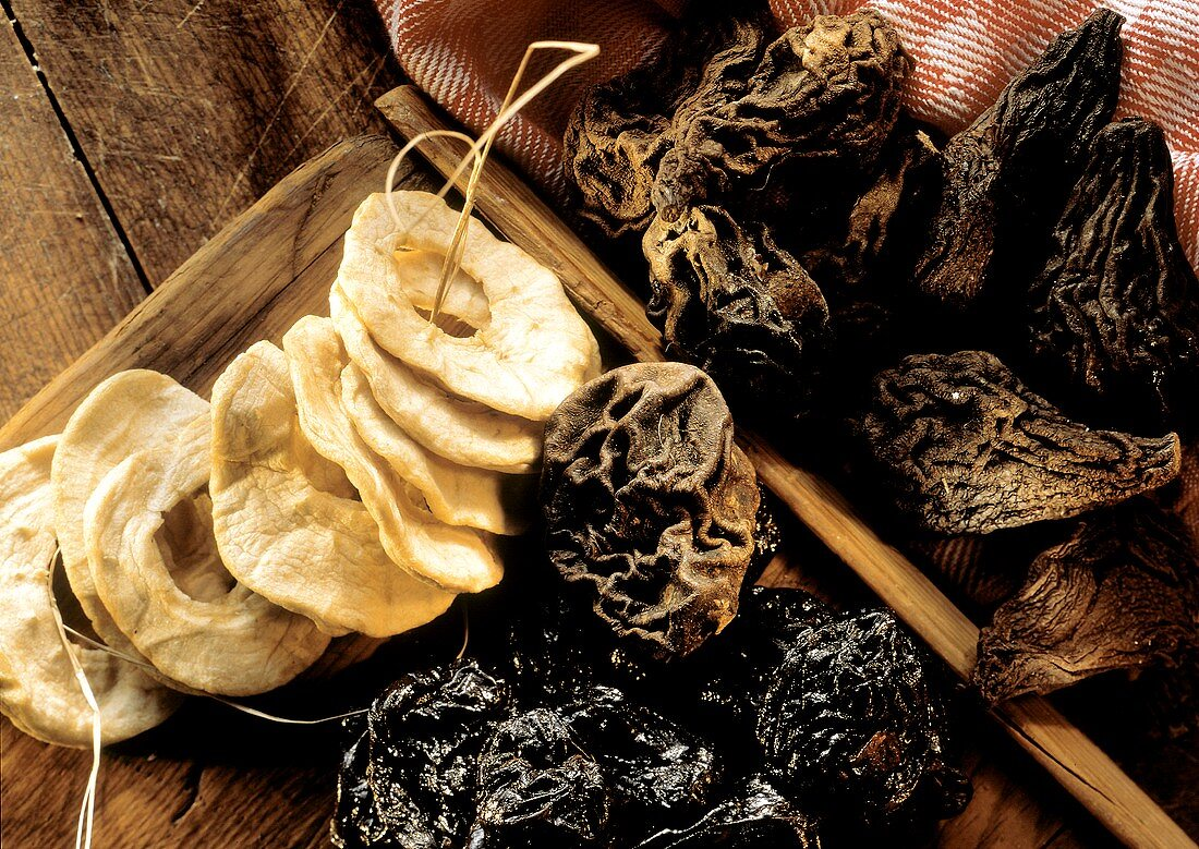 Still Life of Assorted Dried Fruit