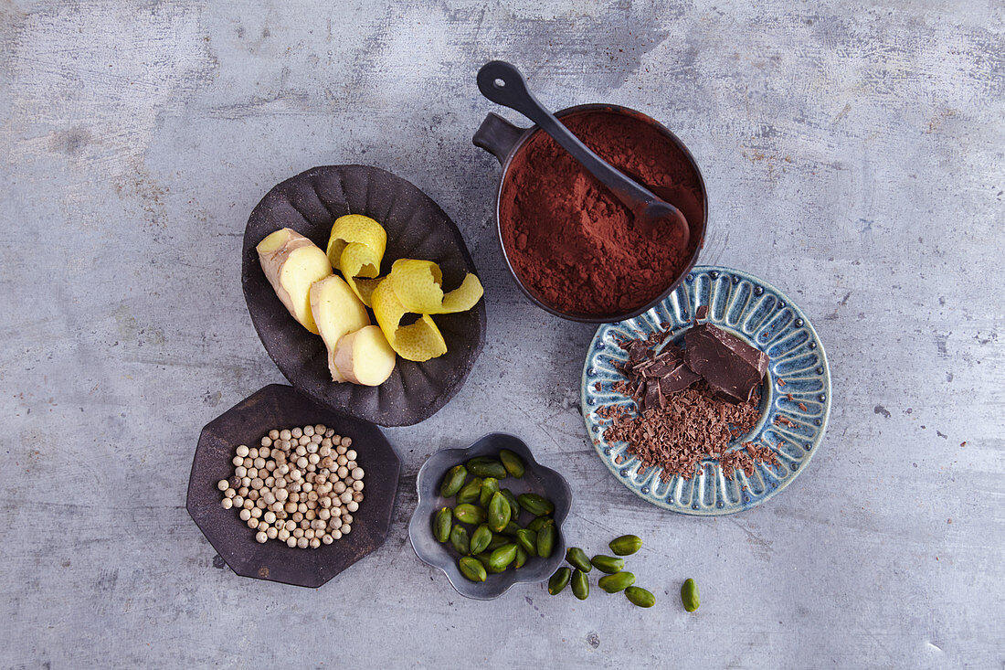 Alternative spices for baking biscuits