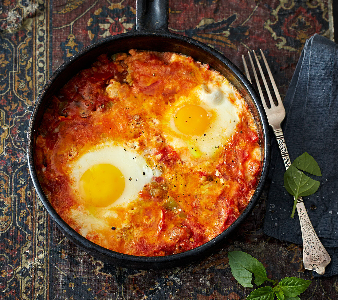 Schakschuka – Israeli-style omelette