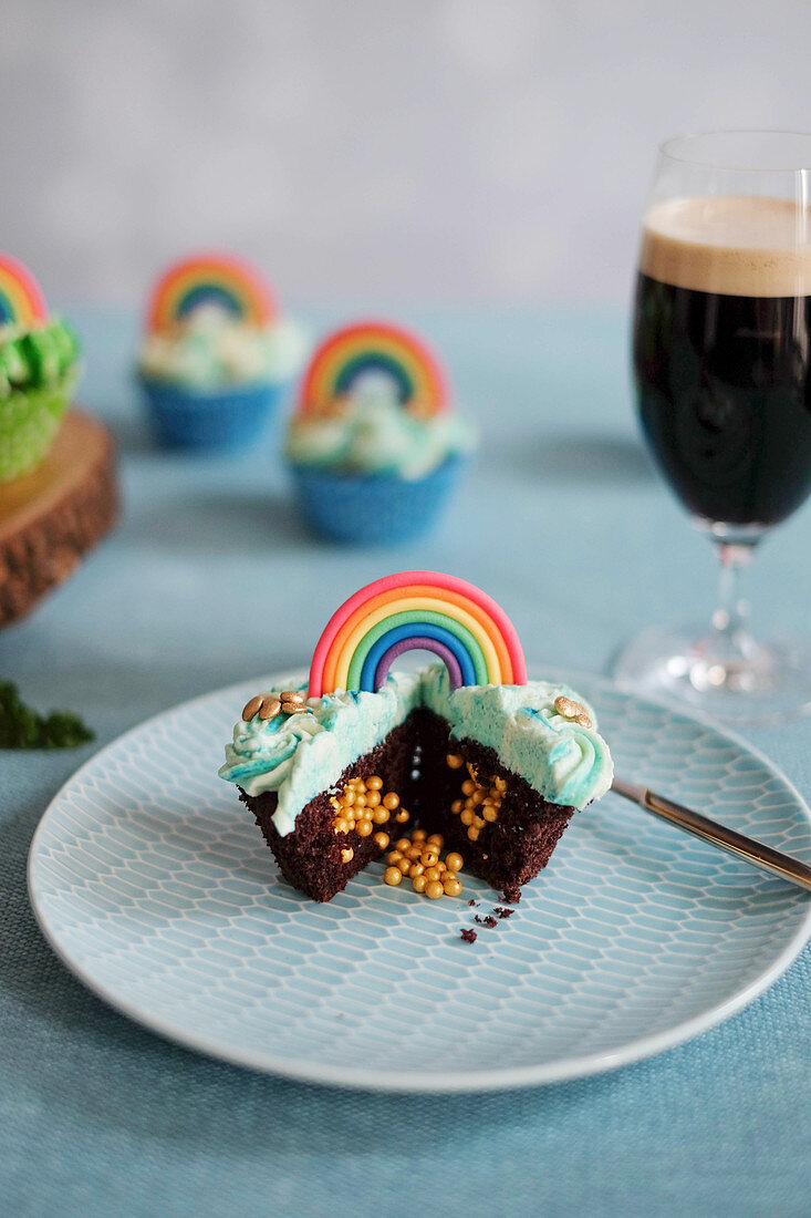 Cupcakes for St. Patrick's Day
