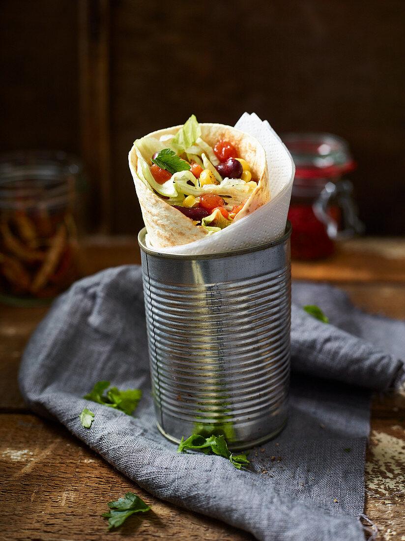Tex-Mex tortilla wraps to take away