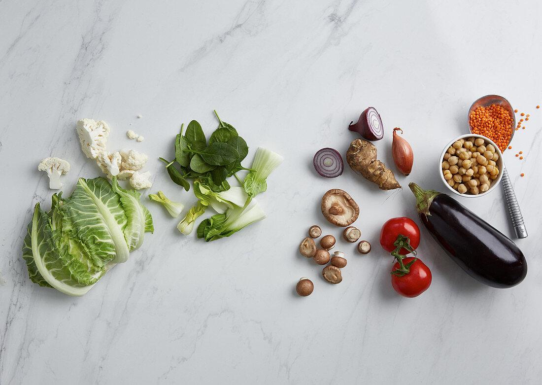 Soup basics: healthy ingredients for vegan soup