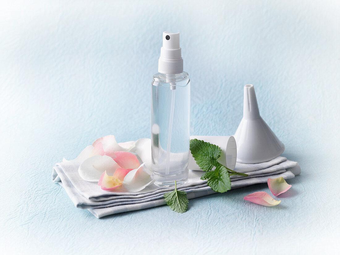 Facial water for dry, irritated skin