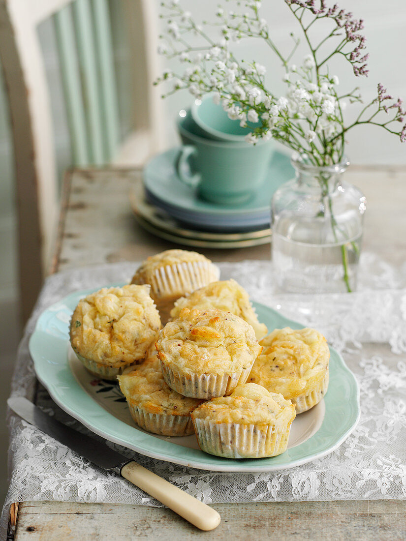 Savoury scones for teatime