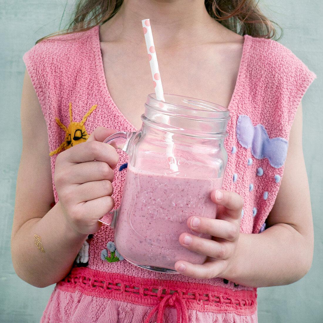 Raspberry smoothie