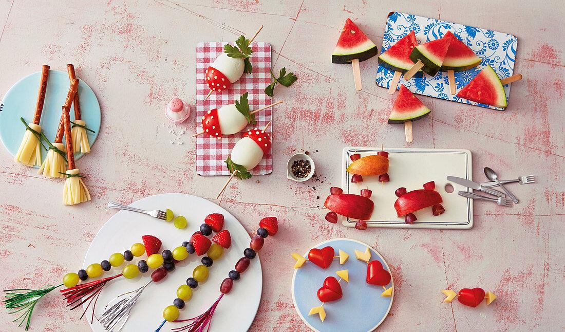 Quick fingerfood snacks (for children)