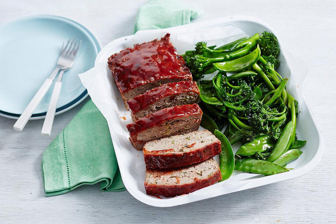 Char Siu Pork Meatloaf