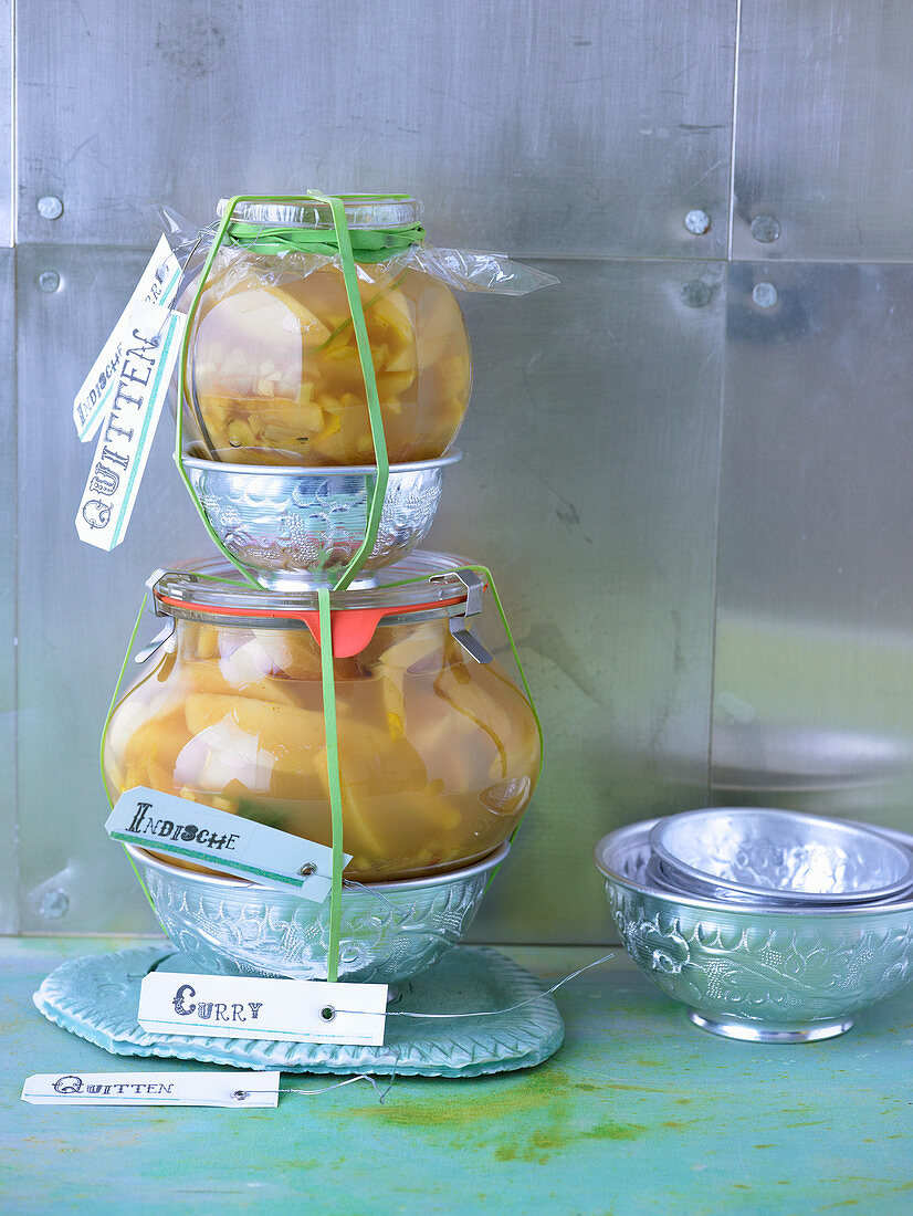 Curried Indian quinces