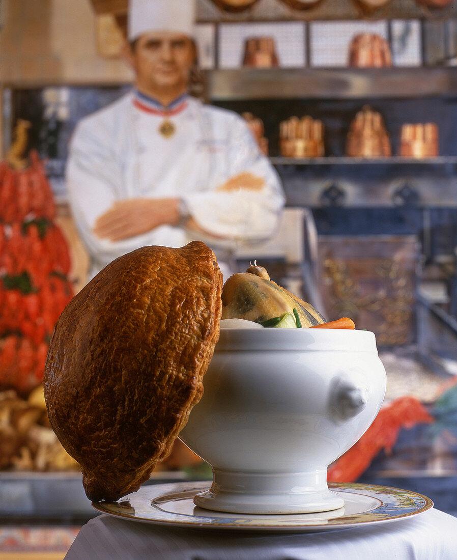 Poule au pot from Paul Bocuse, France