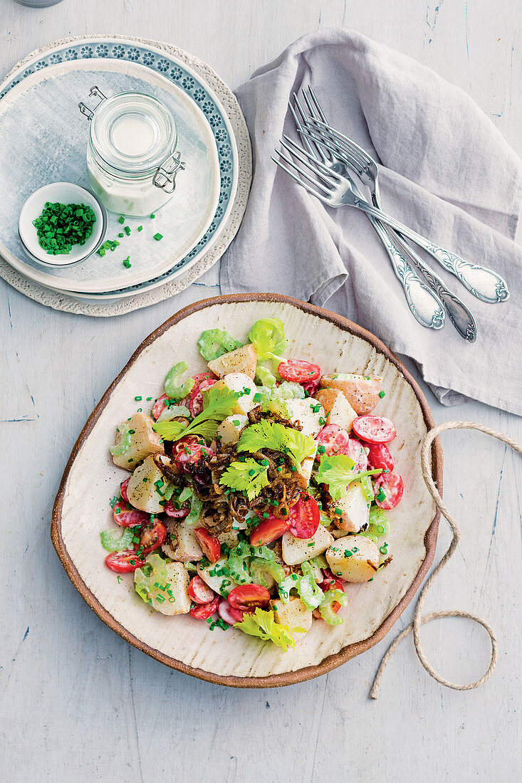 Garam Masala potato salad